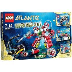 LEGO Atlantis Superpack 4 en 1