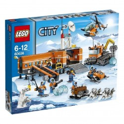 LEGO City Le camp de base arctique
