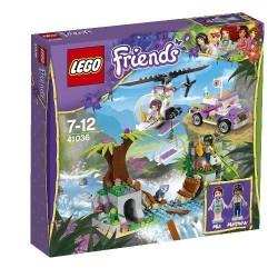 LEGO Friends Opération d'urgence sur le pont de la jungle
