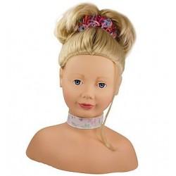 Götz tête à coiffer et maquiller blonde