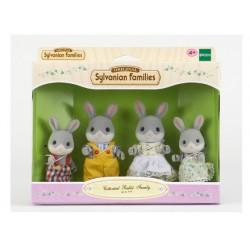 Sylvanian Families Famille lapin gris