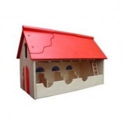 Van Dijk Toys ferme en bois