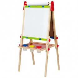 HAPE Chevalet en bois All-in-1