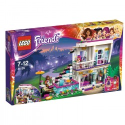 LEGO Friends La maison de la Pop Star Livi