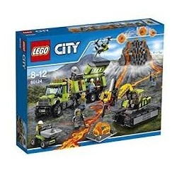 Lego City La base d'exploration du volcan