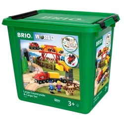 BRIO Grand Countryside et Cargoset