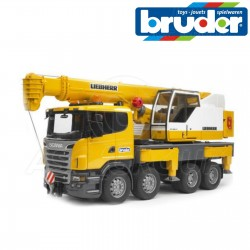 Bruder Camion-grue Scania...